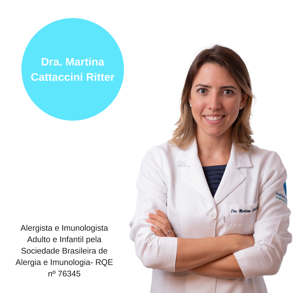 Dr.Martina Cattaccini Ritter.Alergia e Imunologia